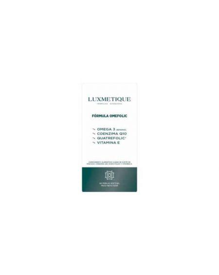 Luxmetique omefolic 60 perlas para las densas