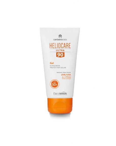 Heliocare 90 Ultra Gel Protección Solar facial proteccion muy alta heliocare gel 90
