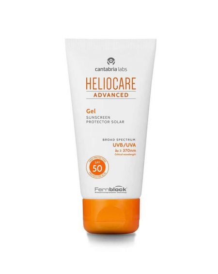 Heliocare Advance Gel SPF 50 200 ml crema de proteccion solar para evitar manchas y fotoenvejecimiento