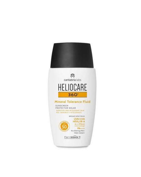 HELIOCARE 360º Mineral Tolerance Fluid SPF 50 crema de proteccion facial para pieles intolerantes
