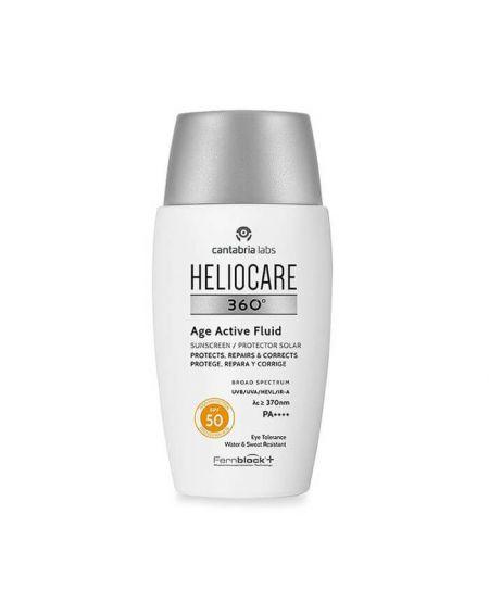 HELIOCARE 360º Age Active Fluid SPF 50 crema facial proteccion solar antiedad