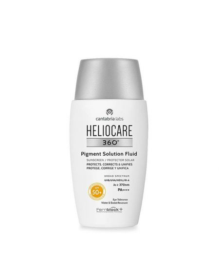 HELIOCARE 360º Pigment Solution Fluid SPF 50+ crema facial proteccion solar para pieles con manchas