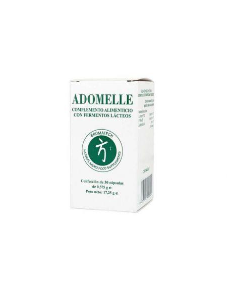 Bromatech Adomelle 30 cápsulas probiotico para obesidad y disminuye los trigliceridos