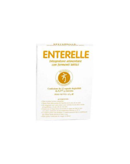 Enterelle Plus de Bromatech 12 cápsulas para la diarrea del viajero, uso de antibioticos