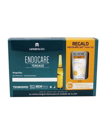 Endocare Tensage 20 ampollas 2 ml. Sérum efecto tensor.