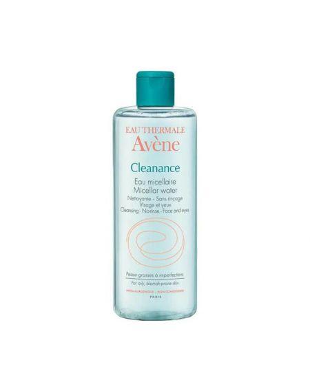 AVENE CLEANANCE AGUA MICELAR 400 ML agua micelar termal desmaquillante para pieles sensibles
