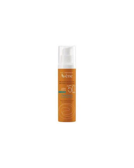 AVENE CLEANANCE SOLAR facial SPF 50+ MUY ALTA PROTECCION para pieles sensibles reactivas con manchas