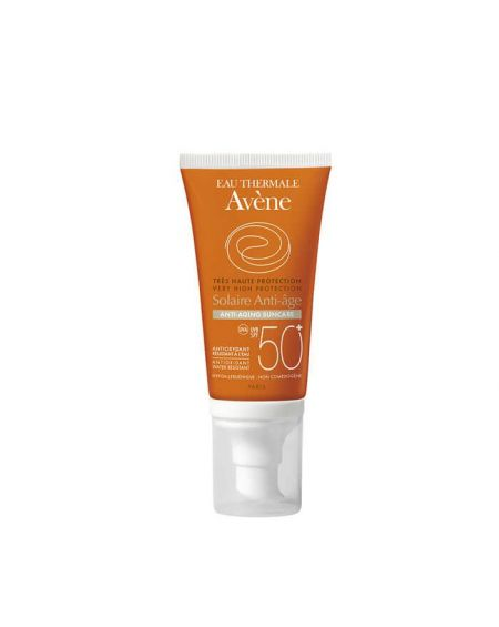AVENE CUIDADO SOLAR facial ANTIEDAD SPF 50+ 50 ML para pieles sensibles