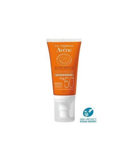 AVENE crema de protección SOLAR ANTIEDAD SPF 50+ COLOR 50 ML para pieles sensibles