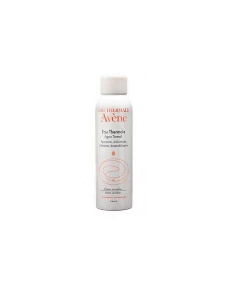 Spray Agua Termal facial de Avène 150 ml calmante e hidratante facial