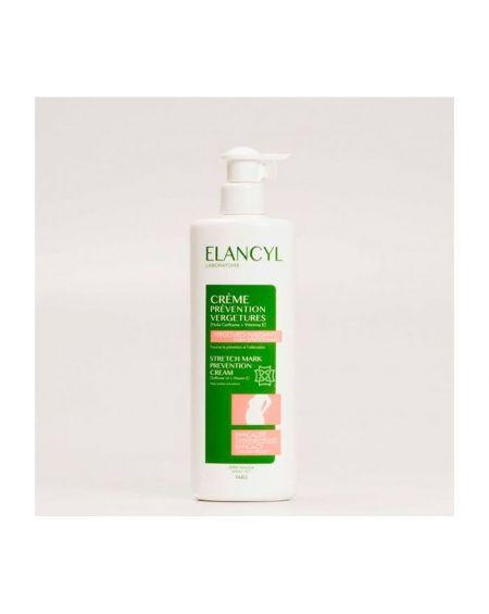 Elancyl crema prevención antiestrías 500 ml crema corporal antiestrías para estrías jóvenes