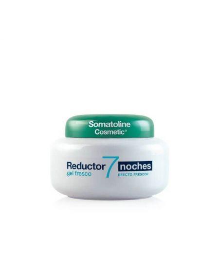 Somatoline Reductor 7 Noches Ultra Intensivo Gel Fresco 400 ml drena reduce grasas y alisa la piel