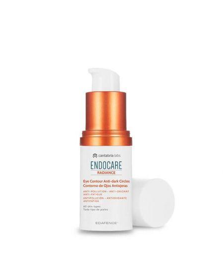 Endocare Raciance Contorno de ojos antiojeras, antipolución, antioxidante, antifatiga.