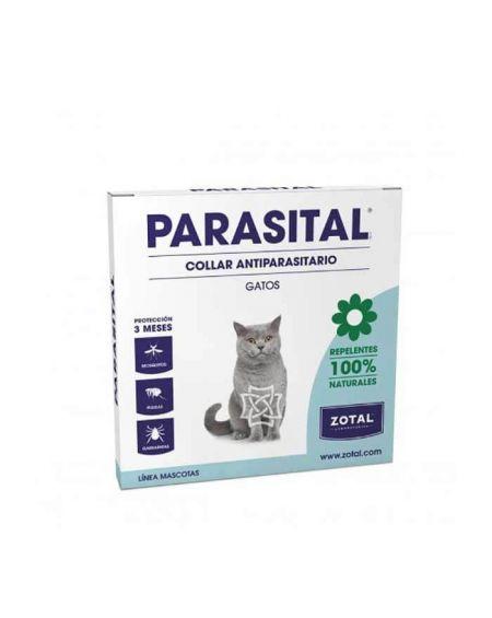 Collar antiparasitario para gatos Parasital