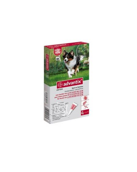 Advantix solución spot -on para perros 10 a 25 kg