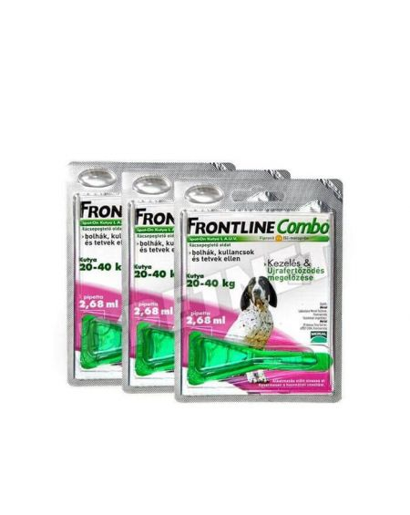 Frontline Combo de 20 a 40 Kg para perros medianos