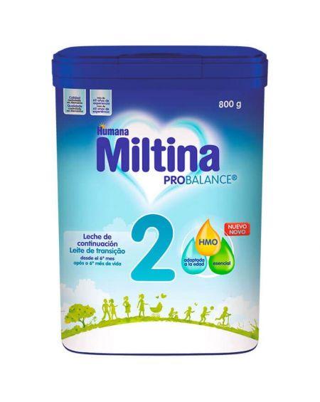 Miltina 2 Probalance 800 gr Leche de Continuación