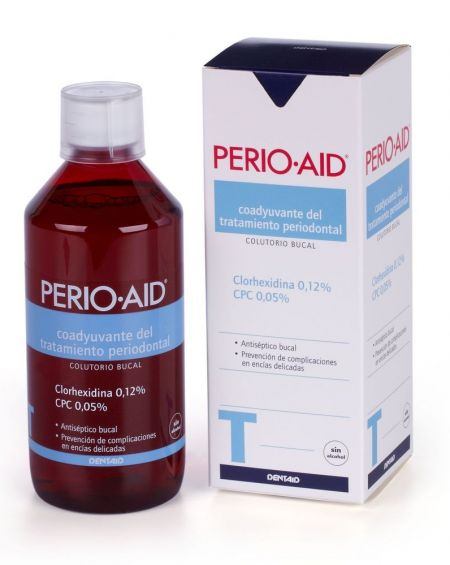 Perio·Aid Tratamiento colutorio sin alcohol 500 ml