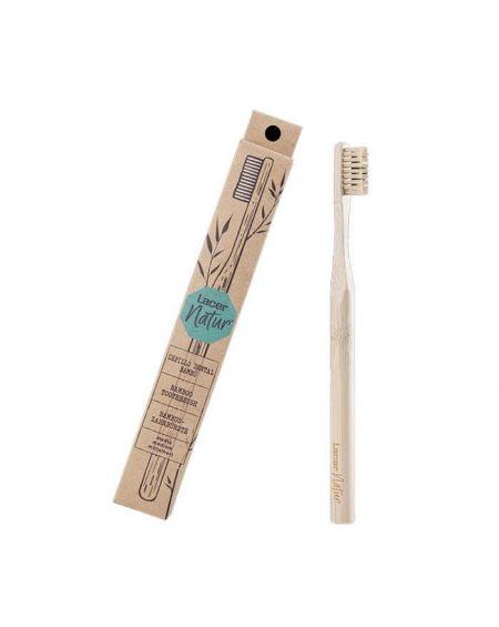 Lacer Natur Cepillo de Dientes de bambú Sostenible 100% reciclable
