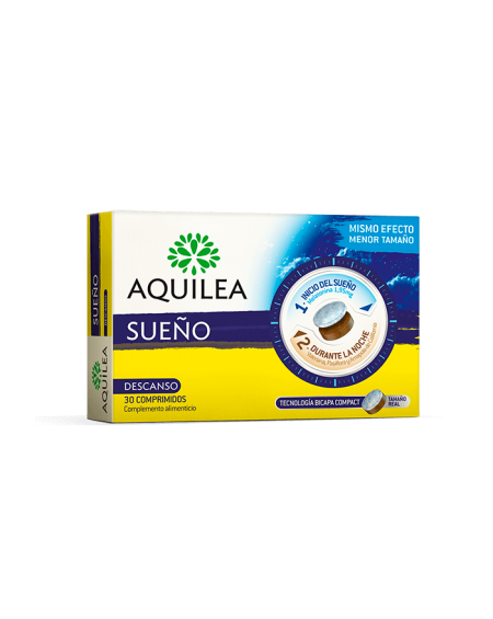Aquilea Sueño Compact 30 comprimidos para conciliar el sueño