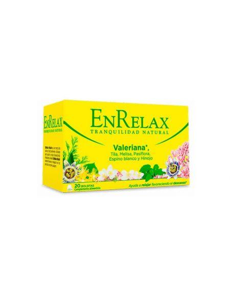 Enrelax Infusión Relajante 20 sobres a base de Valeriana