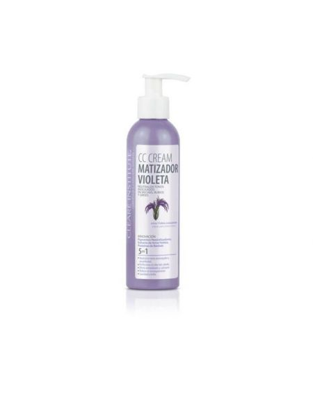 Cleare Institute CC Cream Matizador Violeta Pelo Blanco 200 ml