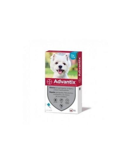 Advantix solución spot -on para perros  4 a 10 kg