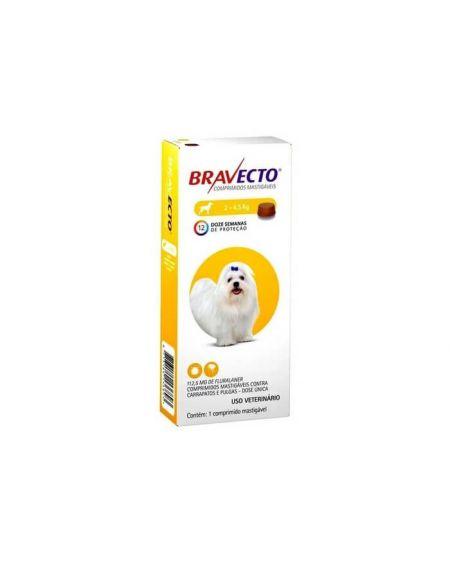 Bravecto Para Perros muy pequeños  112,5 mg 1 comp. masticables