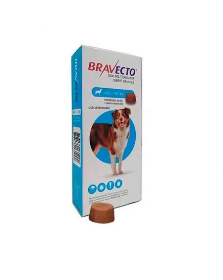 Bravecto Para Perros grandes 1000 mg 1 comp. masticables de bayer