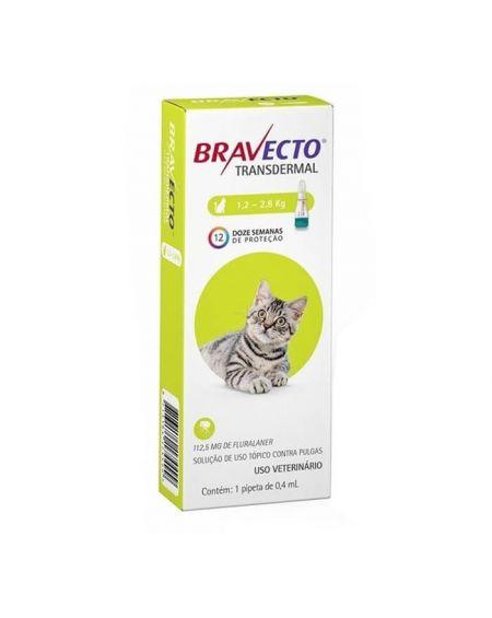Bravecto Spot On gatos pequeños 112,5 mg en 1 pipeta 04 ml