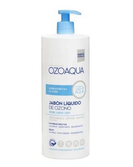 Jabón líquido de ozono 1000 ml de ozoaqua Pieles Sensibles
