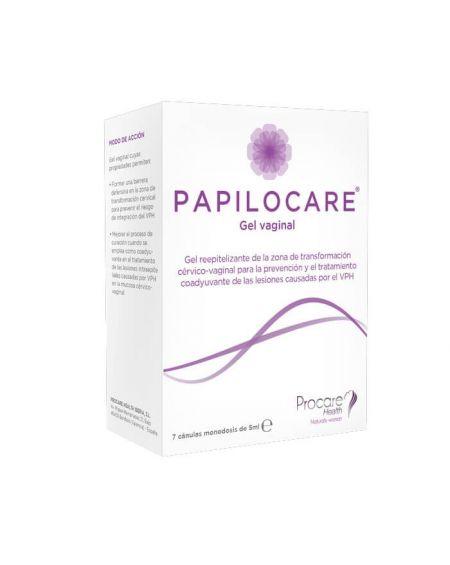 Papilocare Gel Vaginal 7 cánulas monodosis 5 ml