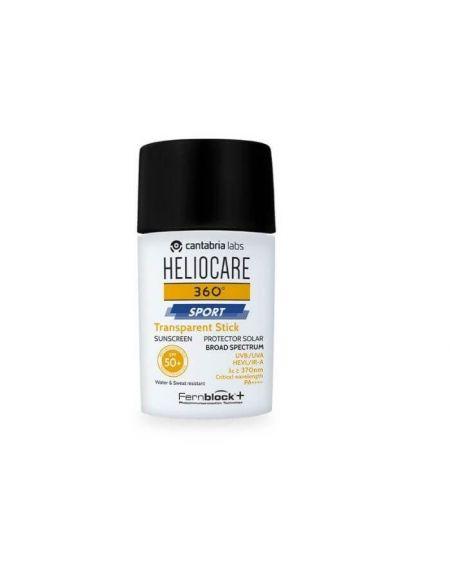 Heliocare 360º Sport Transparent Stick SPF 50+