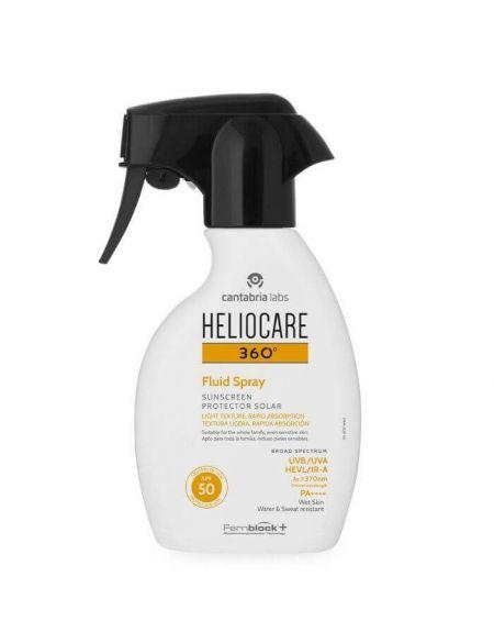 Heliocare 360º Fluid Spray SPF 50 250 ml