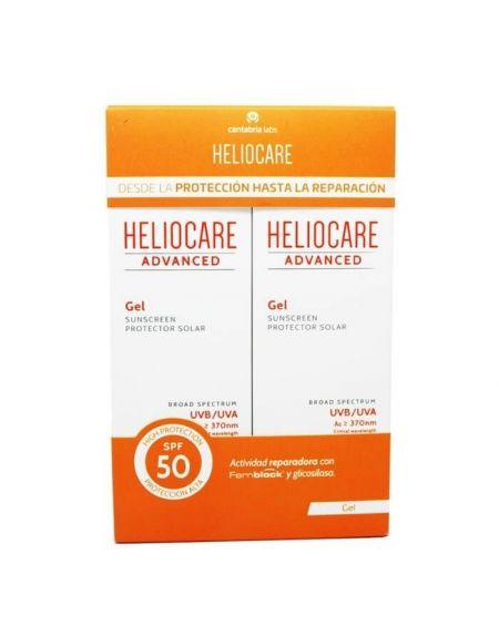 Heliocare Advanced Gel SPF 50 Pack Duplo 2x 200 ml