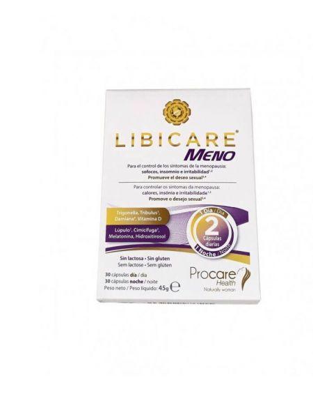 Libicare Meno para la premenopausia y menopausia, controla los sintomas y aumenta la libido