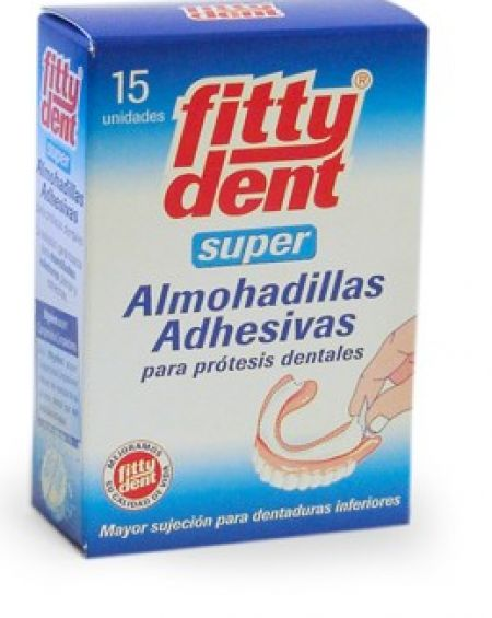 Fittydent Super Almohadillas Adhesivas