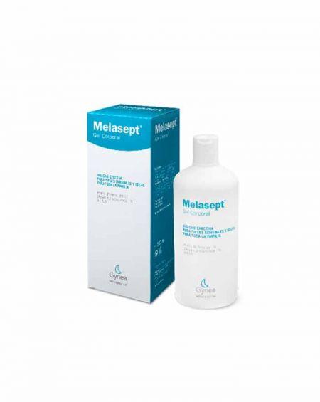 Melasept gel corporal pieles sensibles 500 ml