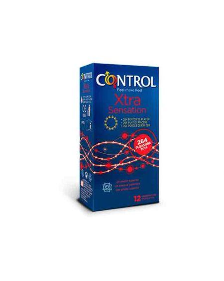Control Preservativos Xtra Sensation con 264 puntos de placer