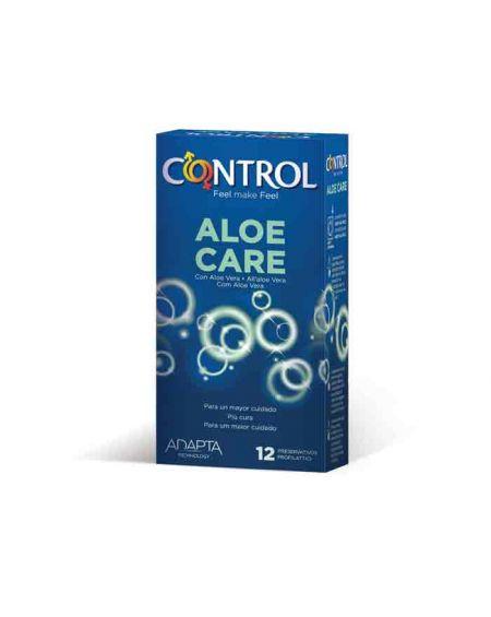 Comprar preservativos Control aloe care 12 unidades