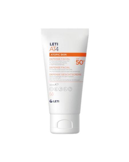 LetiAT4 Solar Facial Piel Atópica 50 ml SPF 50+