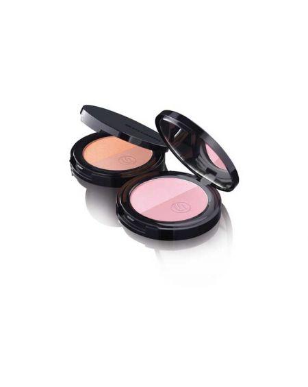 Sensilis hydrablush colorete iluminador bicolor 01 prune / rose