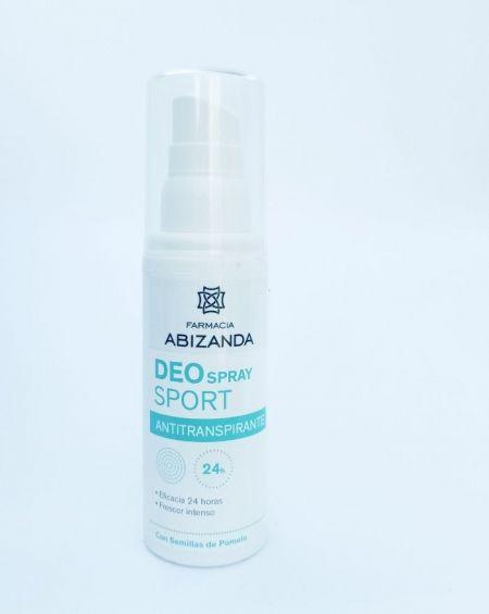 Abizanda Desodorante Spray Sport Antitranspirante Semillas Pomelo 100 Ml