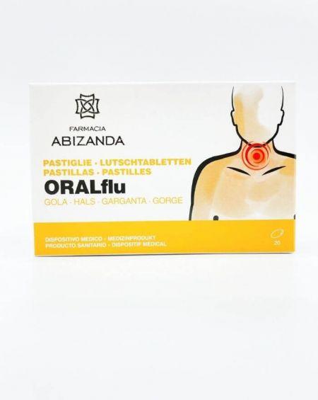 Abizanda Pastillas ORALFlu garganta 20 unidades