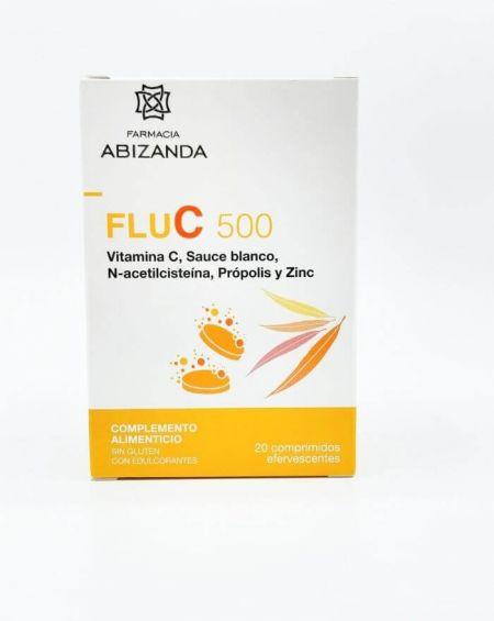 Abizanda Flu C 500 20 comprimidos efervescentes