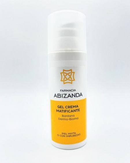 Abizanda Gel Crema Matificante Bardana y Dermo-Bioma 50 ml