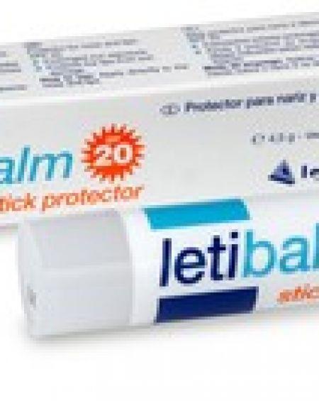 Letibalm balsamo reparador stick protector SPF 20