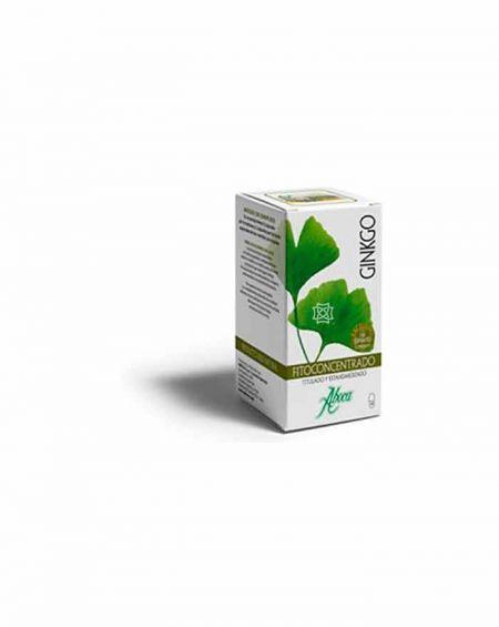 Ginkgo Fitoconcentrado de Aboca 50 cápsulas para mejorar el vigor sexual