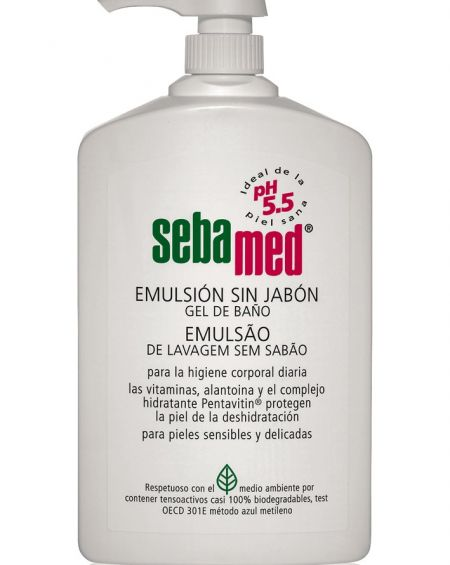 Sebamed emulsión sin jabón 1000 ml con dosificador