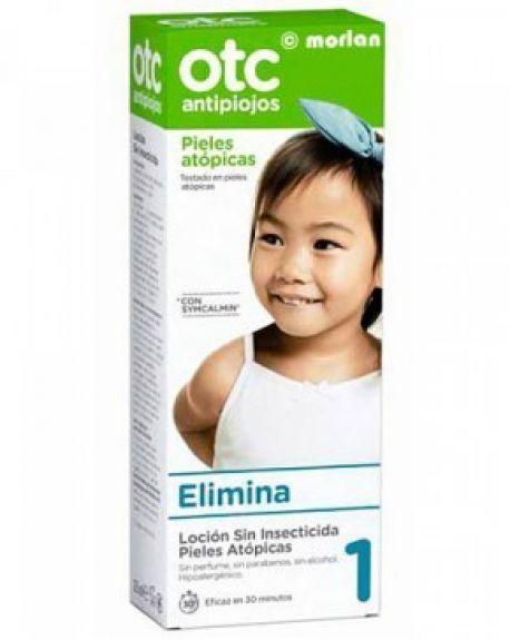 OTC loción antipiojos piel atópica sin insecticida